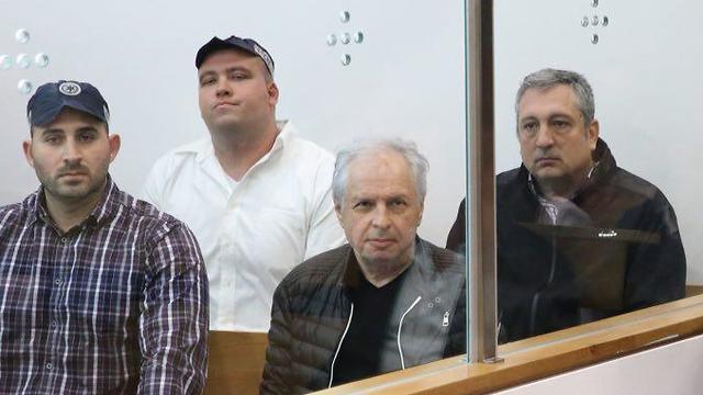 אלוביץ' וחפץ בבית המשפט (צילום: מוטי קמחי) (צילום: מוטי קמחי)