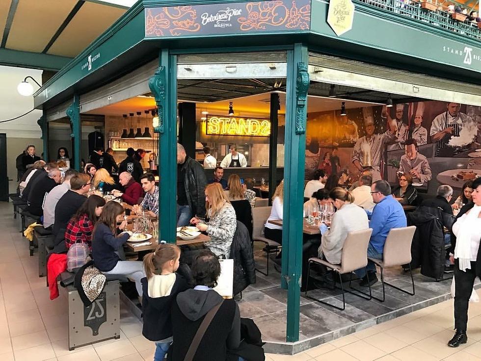 מסעדת מישלן עם אוכל רחוב וזול (צילום: אווה ברזלי) (צילום: אווה ברזלי)