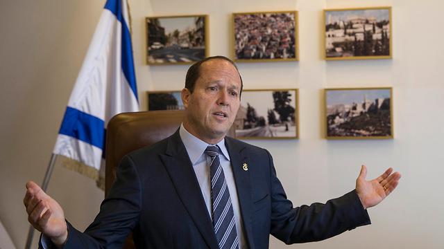 Jerusalem Mayor Nir Barkat. A significant achievement  (Photo: AP)