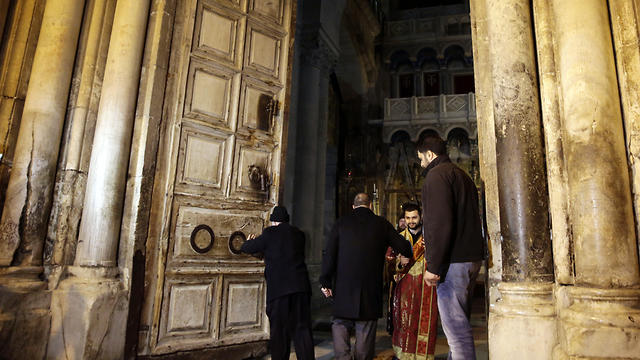 Jew Detector: Church Of Holy Sepulchre Doors Reopen After Brief Protest
