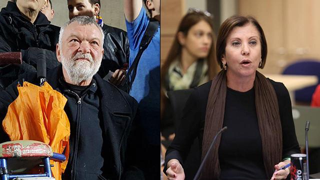 Zehava Galon and Ilan Gilon. Voters are yearning for young leadership (Photos: Gil Yohanan, Barel Efraim)