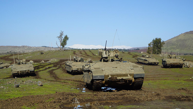 IDF Armored Corps (Photo: IDF Spokesmans unit)