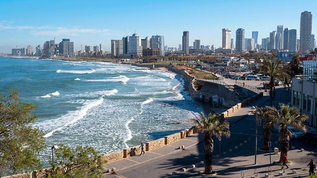 Тель-Авив. Вид из Яффо. Фото: EPA