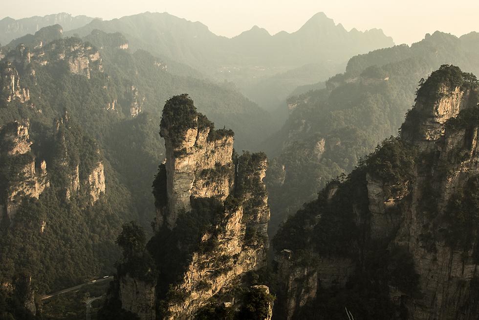 שמורת ז'אנג-ג'יָה-ג'יאה (צילום: רון פלד) (צילום: רון פלד)