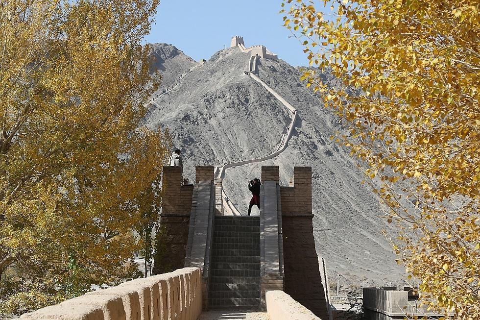 החומה הסינית. הסוף (צילום: רון פלד) (צילום: רון פלד)