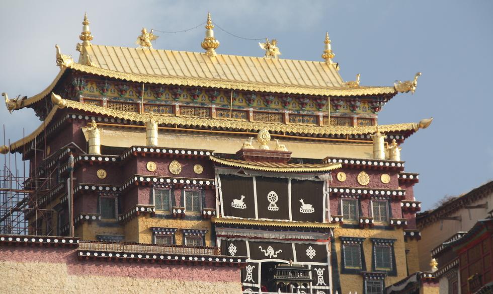 מקדש טיבטי בשנגרילה (צילום: רון פלד) (צילום: רון פלד)