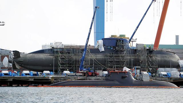 ThyssenKrupp's shipyard in Kiel (Photo: EPA)