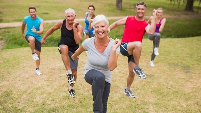 הקפידו על פעילות גופנית מבוקרת (צילום: shutterstock) (צילום: shutterstock)