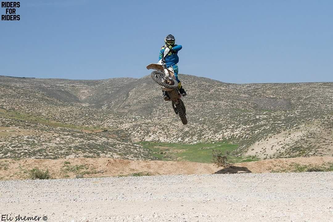 קולמן בפעולה (צילום: אלי שמר, Riders for riders) (צילום: אלי שמר, Riders for riders)
