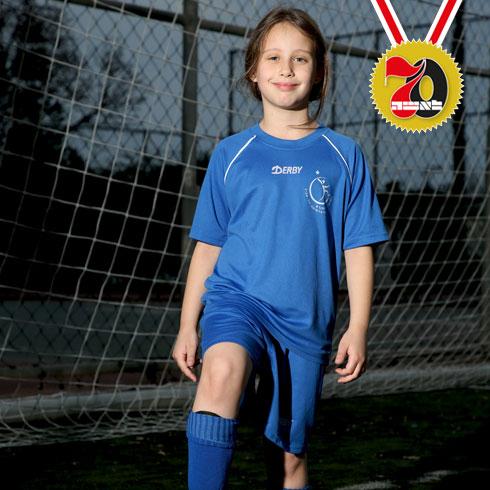 תלמה הלפרין.הצטרפה לליגה בגיל 6 (צילום: ריאן פרויס)