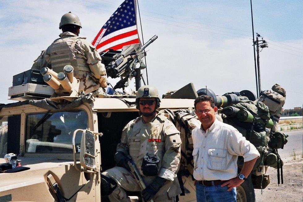 עם הכוחות האמריקנים בעיראק, 2003 ()