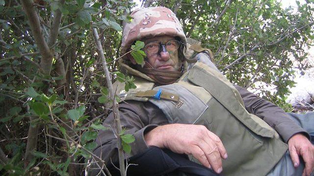במלחמת לבנון השנייה (צילום: רון בן ישי) (צילום: רון בן ישי)