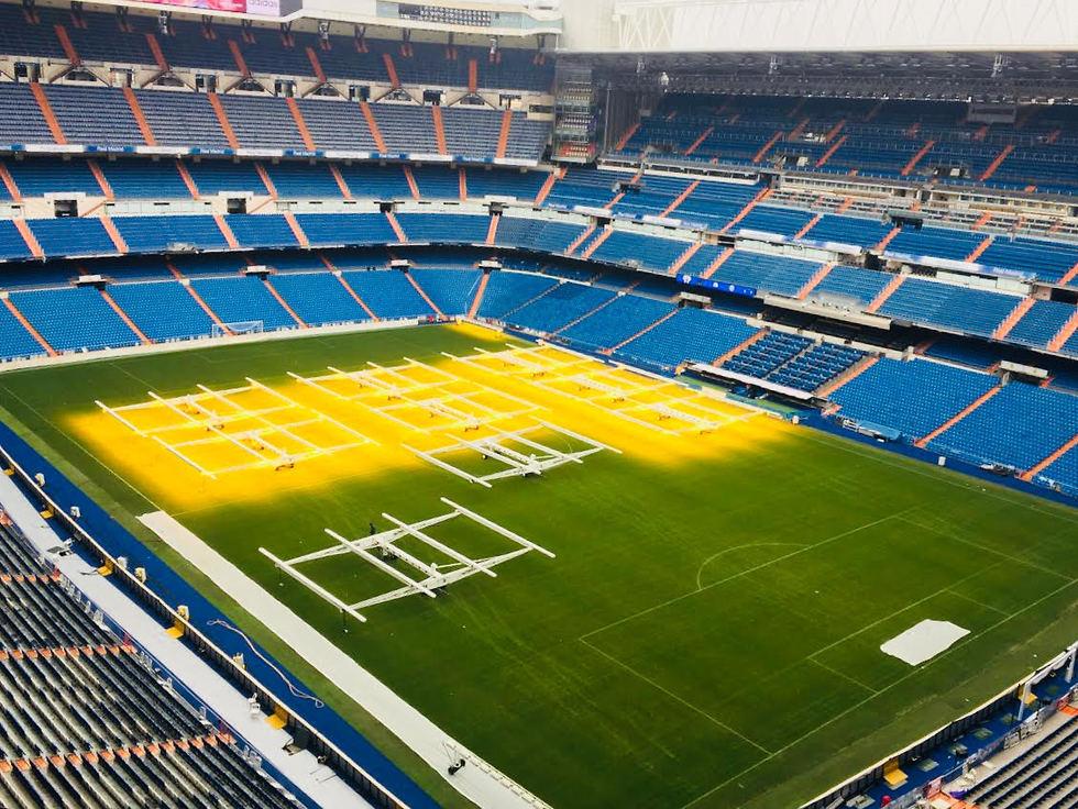 אצטדיון ברנבאו ו-81 אלף מושביו (צילום: שירי הדר) (צילום: שירי הדר)