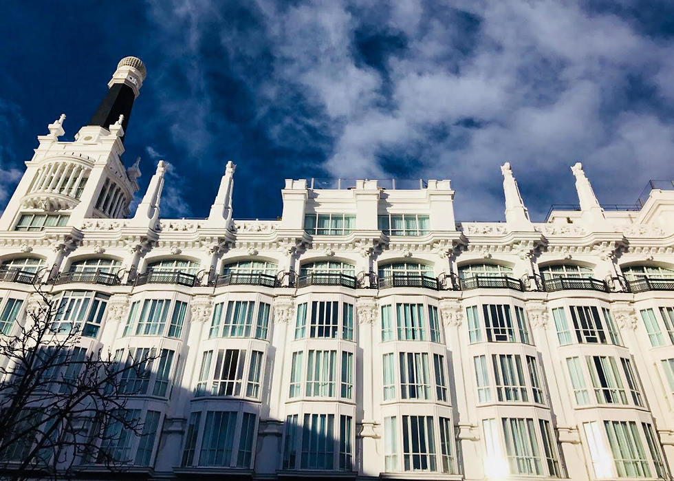 המבנה של מלון ME בכיכר סנטה אנה (צילום: שירי הדר) (צילום: שירי הדר)
