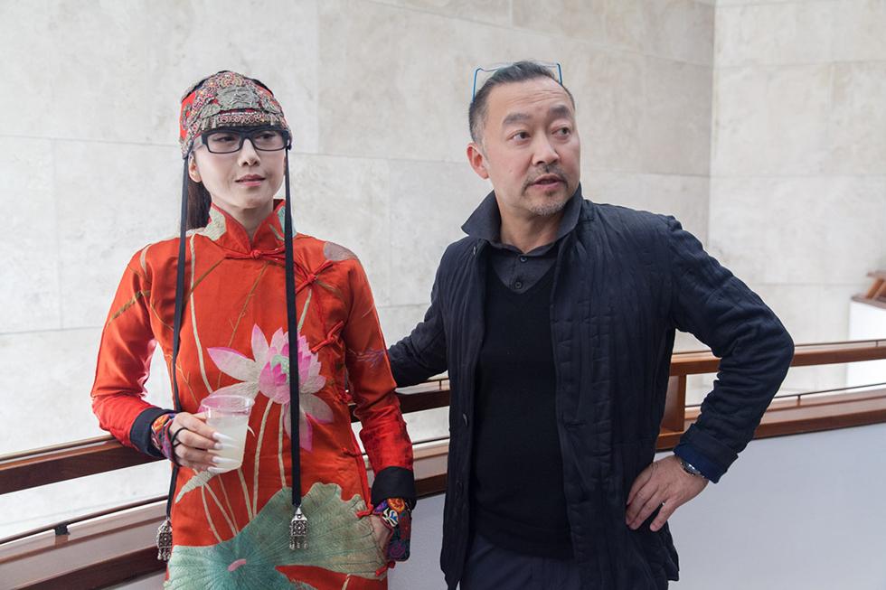 יאנג לי פינג (משמאל) (צילום: ענבל כהן חמו) (צילום: ענבל כהן חמו)
