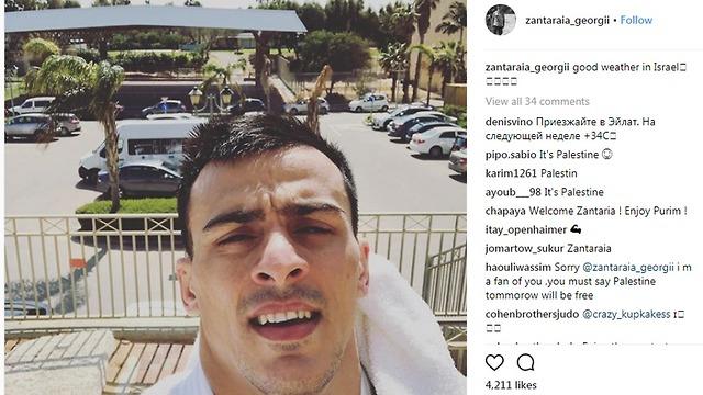 Zantaraia's Instagram post drew the ire of some of his followers (Photo: Instagram)