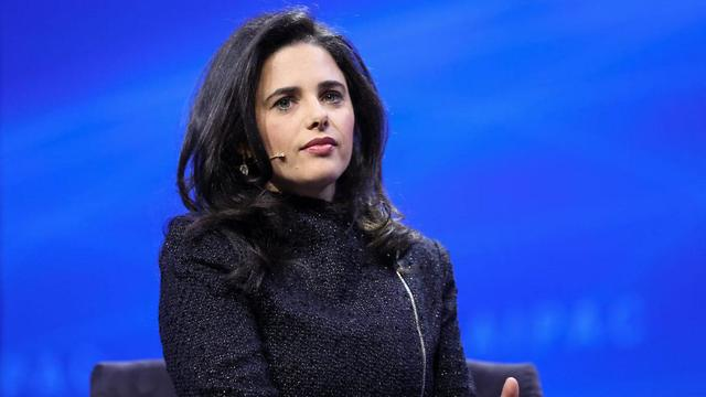 Minister Ayelet Shaked (Photo: AIPAC)