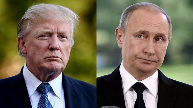 US President Donald Trump (L) and Russian President Vladimir Putin (Photos: Reuters, MCT)