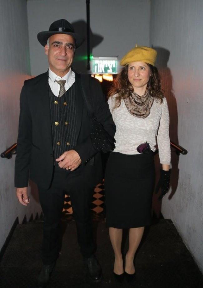 יוצאים קבוע. יורם טולדנו ובת הזוג שקמה (צילום: איציק בירן)