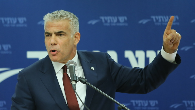Yesh Atid Yair Lapid (Photo: Alex Kolomoisky)