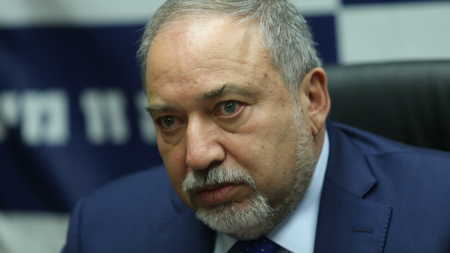 Defense Minister Lieberman (Photo: Alex Kolomoisky)