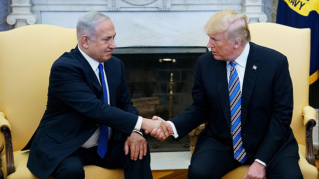 Trump and Netanyahu. State officials in Jerusalem are blind to the fact that the US president looks at the world through a narrow lens  (Photo: AFP)