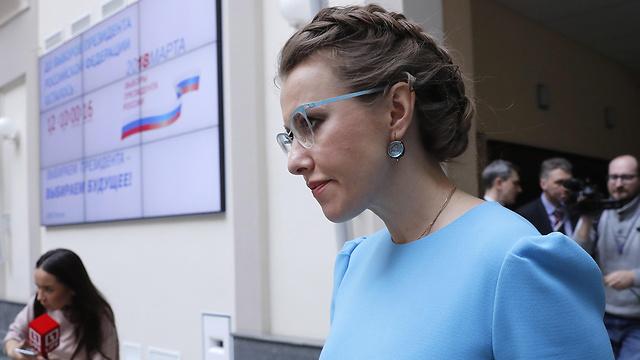 קסניה סובצ'ק. ראה למתמודדים נגד פוטין להתאחד (צילום: MCT) (צילום: MCT)