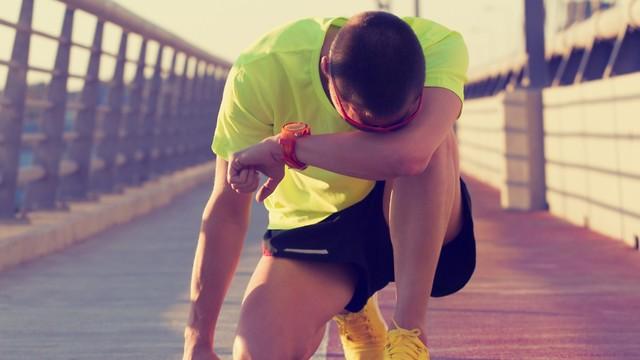 רבים מתייאשים מהר מדי. ריצה ()