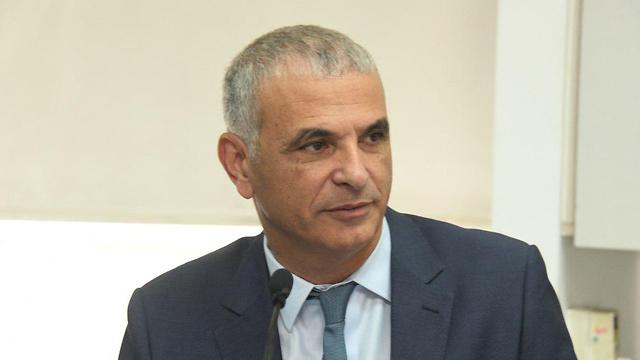 Finance Minister Kahlon (Photo: Yair Sagi)