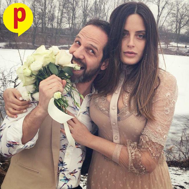 """עדי שילון: """"אהבה מנצחת הכל"""". שילון ויוסף סוויד ביום חתונתם"""