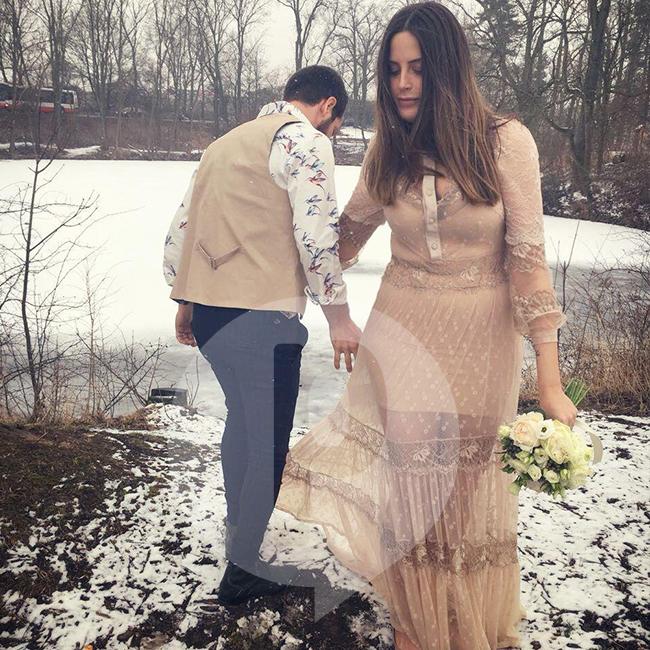 חתונה בשלג זה חלום