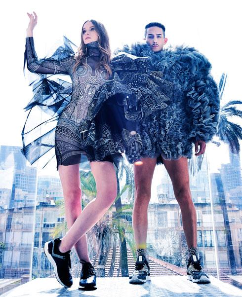 שנקר בשבוע האופנה: המעצבים סטודנטים, הדוגמניות מרצות. לחצו על התמונה לכתבה המלאה (צילום: איתן טל)