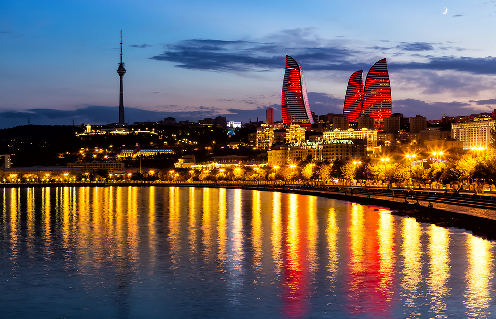 מתעוררת לחיים: בירת אזרבייג'ן (צילום: shutterstock) (צילום: shutterstock)