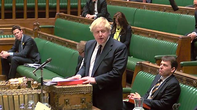 Борис Джонсон отвечает на парламентский запрос об отравлении Скрипаля. Фото: AFP (Photo: AFP)