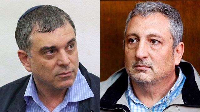 Госсвидетели по делу Нетаниягу: Шломо Филбер и Нир Хефец. Фото: AFP (Photo: AFP)