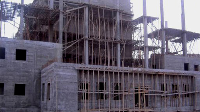 Construction done at the al-Kibar reactor