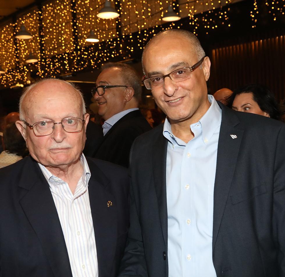 דוד מימון ודוד עברי (צילום: סיון פרג') (צילום: סיון פרג')