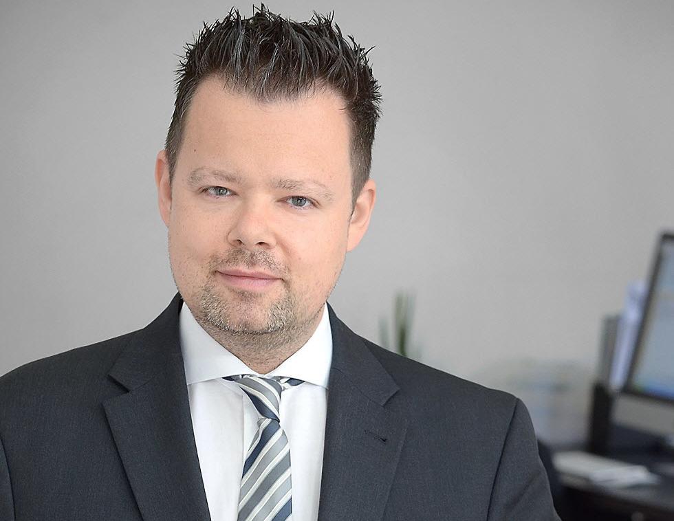 מירקו לנגא (Mirco Lange), נציג רשת המרכולים EDEKA. ()