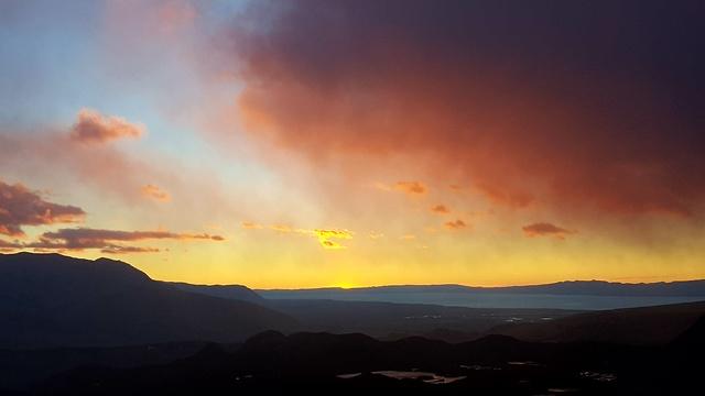 זריחה מפסגת הפיץ רוי (צילום: סער יעקובוביץ) (צילום: סער יעקובוביץ)