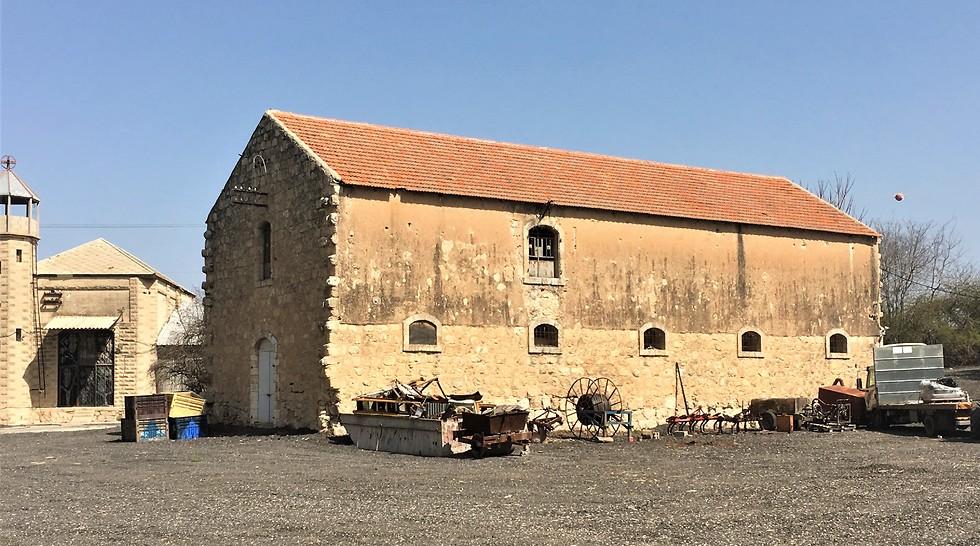 מבנה היקב העתיק (צילום: יעל לרנר) (צילום: יעל לרנר)