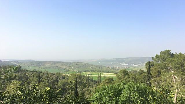 הנוף המרהיב מנקודת התצפית (צילום: יעל לרנר) (צילום: יעל לרנר)