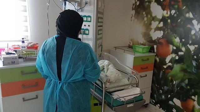"""""""Муж будет счастлив, что мы живы"""". Фото: пресс-служба больницы """"Рамбам"""""""