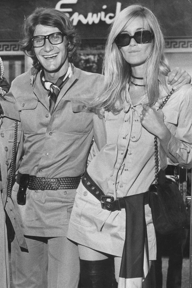 מסרבת להגדיר את הסגנון שלה. קטרו וסן לורן, 1969 (צילום: Gettyimages)
