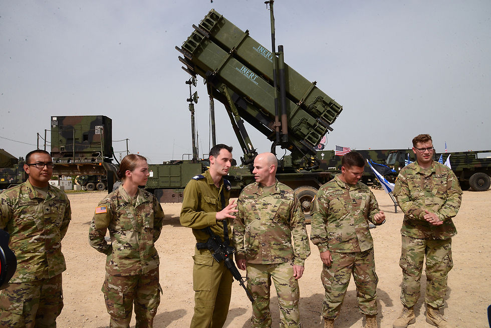 Israeli forces side by side with American troops (Photo: Herzel Yosef)