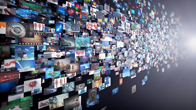 הקובץ השלם מפורק לחתיכות (אילוסטרציה: Shutterstock) (אילוסטרציה: Shutterstock)