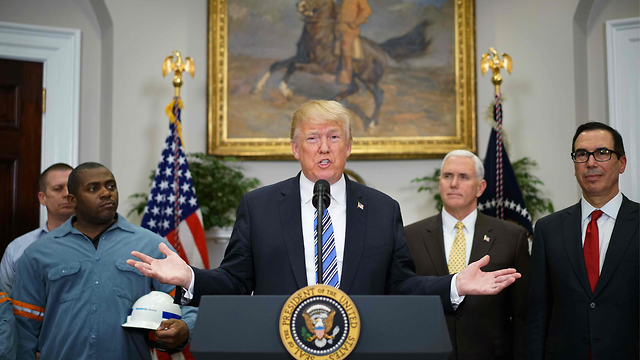 דונלד טראמפ. דווקא האיומים ההדדיים זירזו את המפגש (צילום: AFP) (צילום: AFP)