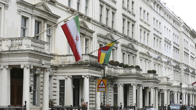 Iran's embassy in London (Photo: Reuters)