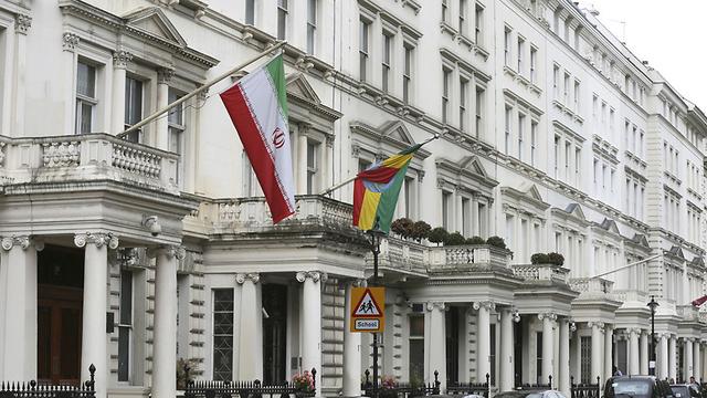 Iran's embassy in London (Photo: Reuters)