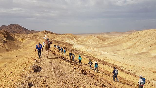 מסע במדבר (צילום: ג'אן-שי דניז) (צילום: ג'אן-שי דניז)