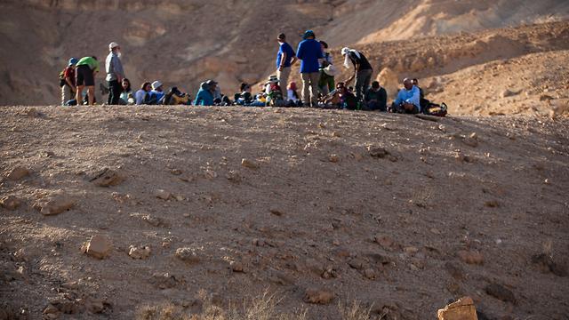 (צילום: זיו שרצר, בית ספר שדה שדה-בוקר) (צילום: זיו שרצר, בית ספר שדה שדה-בוקר)